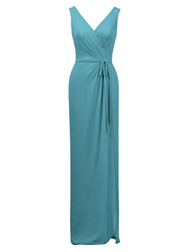 Turquoise Alicepub Dress Slim Bridal Evening Gown Party Dresses Prom Chiffon Maxi Bridesmaid xxC6P4Z