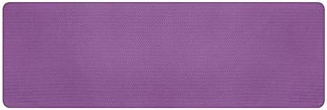 Eco friendly 環境に優しいノンスリップヨガマット、エコTPEテクスチャノンスリップ面と最適なクッション、183センチメートルX 61センチメートル太い0.8センチメートル exercise (色 : Purple)