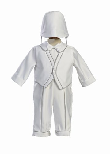 white-satin-christening-baptism-romper-set-accented-with-silver-trim-and-hat-xl-18-month