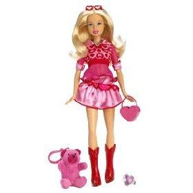 2007 barbie i love valentines day valentine doll