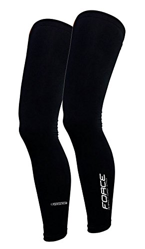 Force Beinlinge Leg Warmers, schwarz (XL)