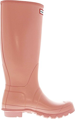 Hunter Original Tall Gloss, Botas de estar Por Casa Para Mujer Pink Sand