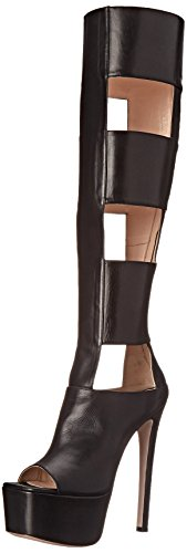 Ruthie Davis Womens Chic Motorcycle Boot Black 7.5 M US