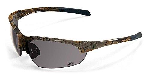 2017 Maxx Sunglasses TR90 Maxx Rough Rider #7 Leaf Camo Smoke Lens - Maxx Sunglasses Hd