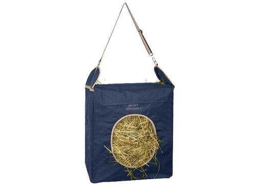 (Derby Originals Nylon Easy Feed Top Load Hay Bag, Navy)