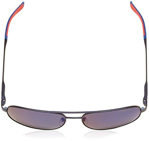 Carrera - Lunette de soleil  8015/S  Rectangulaire  - Homme Matteblue