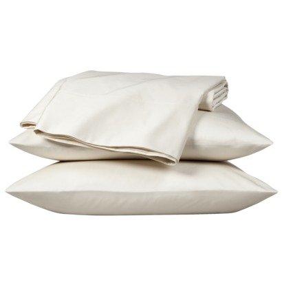 - Fieldcrest Luxury 800 Thread Count Pillowcase Set - Ivory (King)