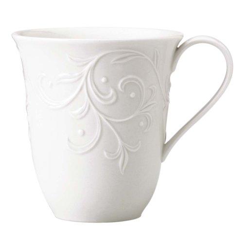 Lenox Opal Innocence Carved Mug