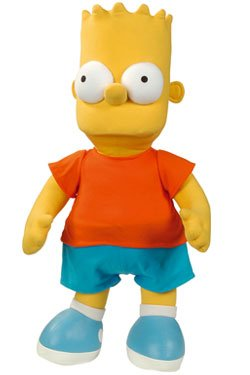 The Simpsons Peluche Barba 38 cm Peluchehttps://amzn.to/395pzZF