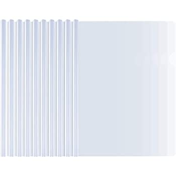 amazon com avery sliding bar clear report covers pack of 50