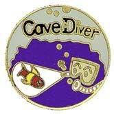Trident New Collectable Cave Diver Scuba Diving Hat /& Lapel Pin