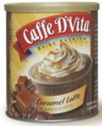 Caffe Dvita F Dv 1c 06 Carm Ic Caramel Latte Blended Iced