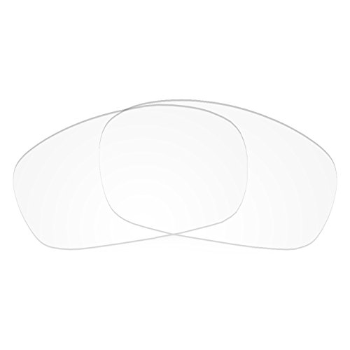 Revant Replacement Lenses for Oakley Racing Jacket Crystal Clear Asian Fit