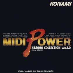 (Midi Power X68000 Collection ver.1.0 Soundtrack Compilation CD)