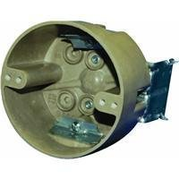 Moulded Box (Allied Moulded 9350=HLK Single Gang Round Ceiling Box by Allied Moulded)