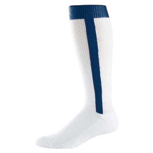 Baseball Stirrup Socks - Youth Size 7-9, Color: Navy, Size: 7 - 9 by Augusta Sportswear for cheap