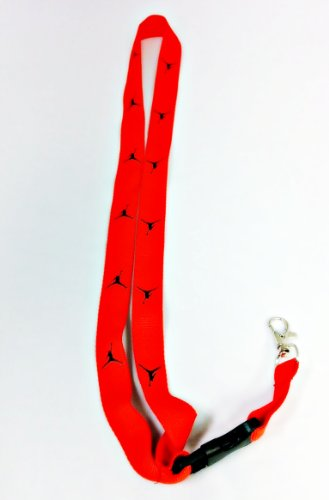 MICHAEL JORDAN Lanyard JUMPMAN Red/Black Keychain Holder