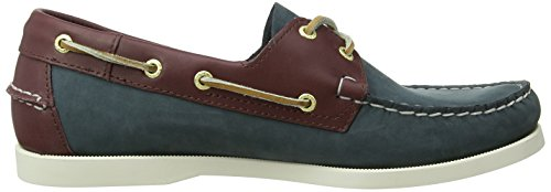 NBK Multicolor Navy FGL dk Shoes Blue Brown Spinnaker Sebago Boat Men's EfnYwq4Aa