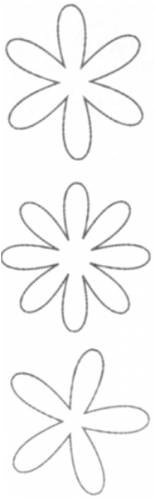 (ADVANTUS CORPORATION Heidi Swapp Ghost Acetate Shapes 12/Package, Flowers Clear)