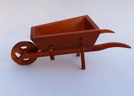 Miniatura de madera carretilla Hobbit/jardín de hadas accesorio: Amazon.es: Jardín