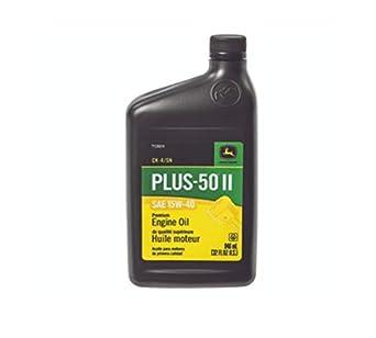 John Deere Original Equipment 32 oz  Plus-50 II SAE 15W-40 Oil #TY26674 (1)