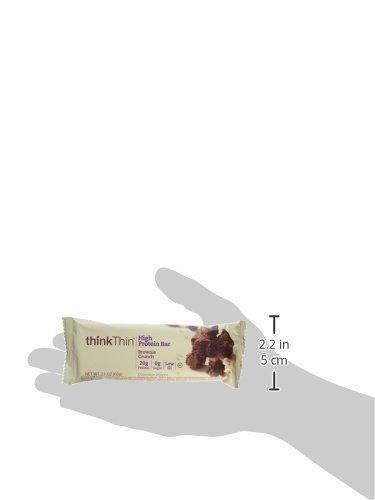 Think Thin 20 Pack (2 X Box of 10)- (Brownie Crunch) by thinkThin (Image #5)