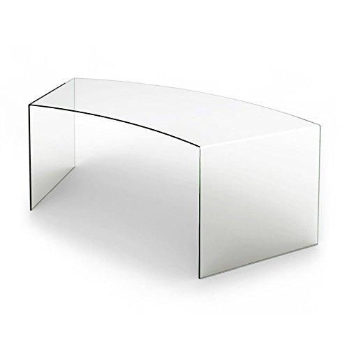 designement Oda Mesa, Vidrio, Transparente, 178 x 90 x 70 cm ...