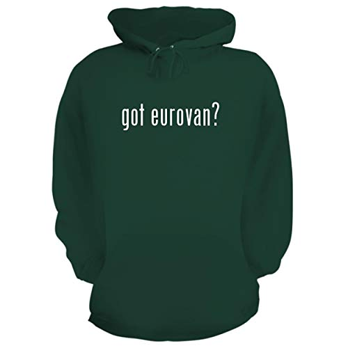 - BH Cool Designs got Eurovan? - Graphic Hoodie Sweatshirt, Forest, X-Large