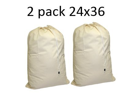 Cotton Laundry Bag Pack drawstring product image