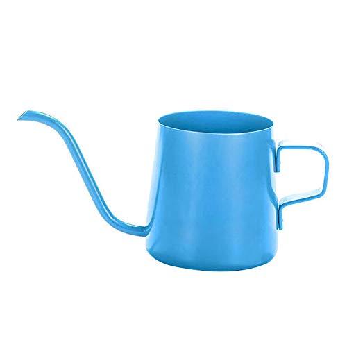 Coffee Kettle Kitchen Tools Gadgets,wanshenGyi 250ml Long Narrow Gooseneck Spout Teapot Stainless Steel Drip Coffee Kettle - Blue 250ml