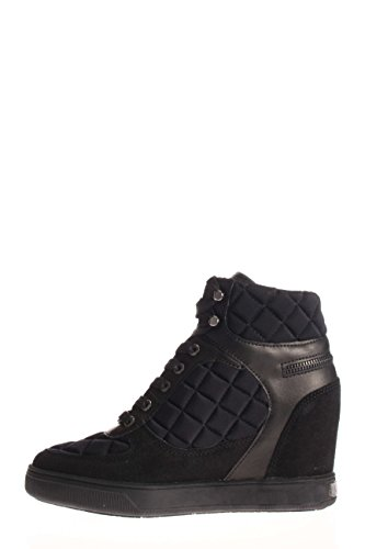 ACTIVE Trainers FABRIC Guess FL4BBY FAB12 Black ABBY Ladies 6X6qAU