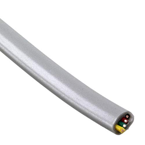 CABLE MOD FLAT 4COND SLVR 1000' (Pack of ()