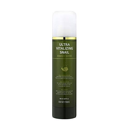 DEWYTREE Ultra Vitalizing Snail Essence Water 150ml Anti aging, Anti Wrinkle Korean Sincare Beauty #Dab1109