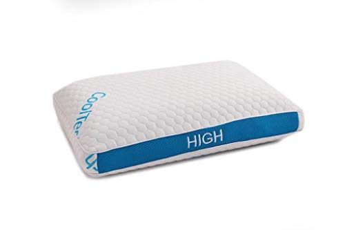 JAHF Interiors Gel Infused Memory Foam Pillow - High Profile - King Size