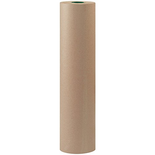 Top Pack Supply Bogus Kraft Paper Roll, 60#, 24″ x 600′, Gray (Pack of 1 Roll)