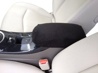Hyundai Accent GLS 2012-2013 Car (not pictured) Auto Center Console Armrest Covers Protects From Dirt and Damage Renews old and Damaged Consoles. Soft, washable and guaranteed to fit - (Hyundai Accent Gls)