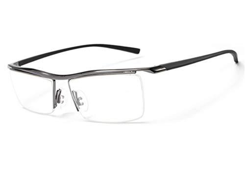Espejo Plano Anti Azul Gafas de de Sol al Negro Libre Aire Gafas Moda de con Gray Azul miopía XIYANG luz fqtFwAw
