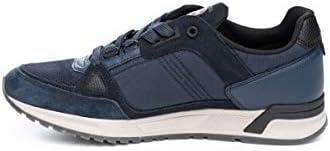 Colmar Supreme Pro 033 Navy Chaussures décontractées à lacets pour homme, bleues