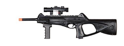 200FPS M182B Spring Airsoft Rifle Gun w/ FLASHLIGHT + 6mm BB BBs