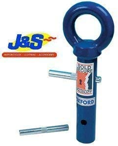 OXFORD OF442 TERRA FORCE MOTORBIKE MOTORCYCLE GROUND ANCHOR J/&S