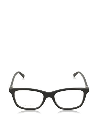 Gucci GG 0018O 002 Havana Plastic Square Eyeglasses 52mm by Gucci