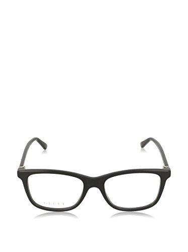 Gucci GG 0018O 002 Havana Plastic Square Eyeglasses 52mm