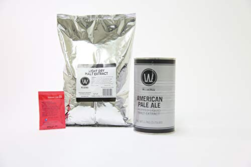 Indian Pale Ale - Premium American Pale Ale No Boil Complete Beer Kit, Makes 5-6 gallons