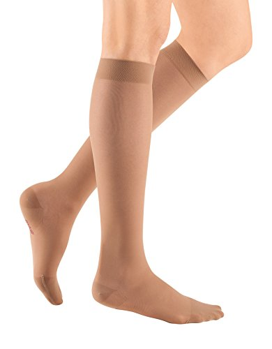 - mediven Sheer & Soft, 20-30 mmHg, Calf High Compression Stockings, Closed Toe