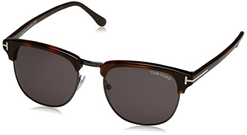 Sunglasses Tom Ford Henry Tf 248 Ft0248 52a Dark Havana / - Tom Henry Ford