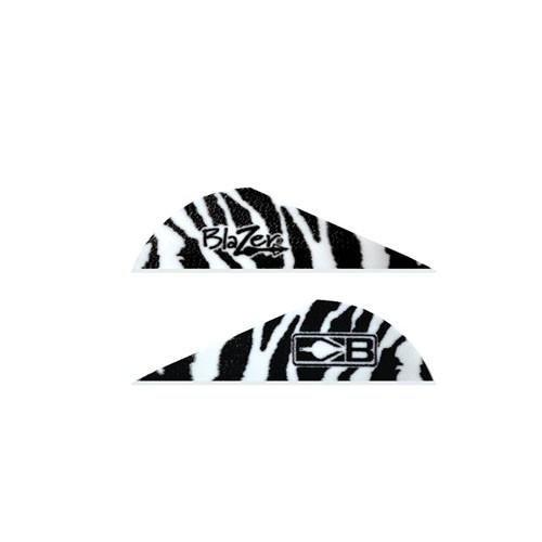 Blazer Vanes Bohning 2 (Bohning Blazer Tiger Archery Vane (100-Pack), White)