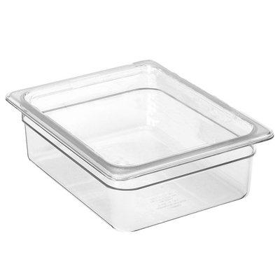 (Cambro 38CW135 Camwear Food Pan plastic 1/3-size 8