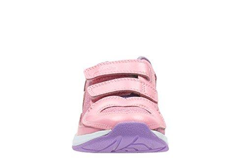 Clarks Piper Chat Inf, Scarpe da Trail Running bambine rosa Pink