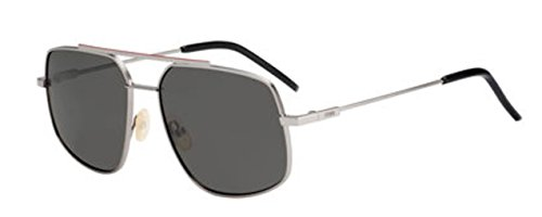 New Fendi FF M 0007/S KJ1/M9 Dark Ruthenium/Grey Sunglasses