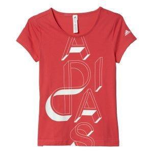adidas Mädchen Lineage T-Shirt, Joy/White, 164